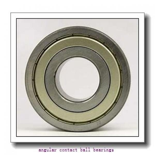 55 mm x 100 mm x 33,3 mm  FAG 3211-BD-2HRS-TVH  Angular Contact Ball Bearings #1 image